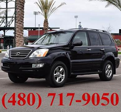 2008 Lexus GX 470 for sale at AZMotomania.com in Mesa AZ