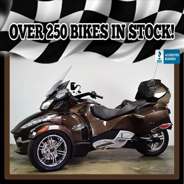 2012 Can-Am Spyder Rt Se5 Limited In Mesa AZ - AZMotomania.com