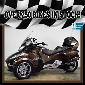 2012 Can-Am Spyder RT SE5 Limited for sale at AZMotomania.com in Mesa AZ