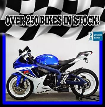 2011 Suzuki GSX-R600 for sale at AZMotomania.com in Mesa AZ