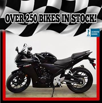 2015 Honda CBR500RAF (ABS) for sale at AZMotomania.com in Mesa AZ