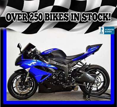 2011 Kawasaki ZX600RBF Ninja ZX-6R for sale at AZMotomania.com in Mesa AZ