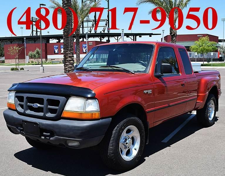 1998 Ford Ranger for sale at AZMotomania.com in Mesa AZ