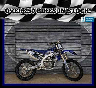 2017 Yamaha YZ250F for sale at AZMotomania.com in Mesa AZ