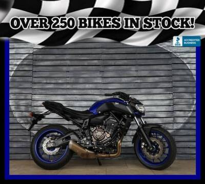 2018 Yamaha MT-07 for sale at AZMotomania.com in Mesa AZ