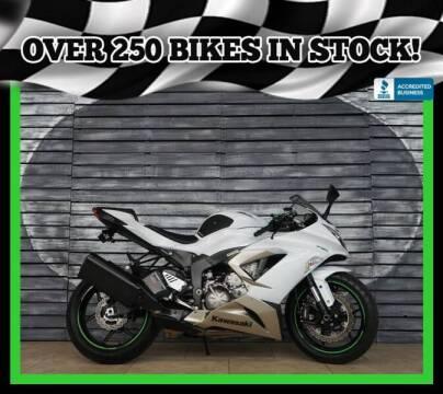 2017 Kawasaki Ninja ZX-6R for sale at AZMotomania.com in Mesa AZ