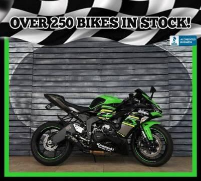 2019 Kawasaki Ninja ZX-6R for sale at AZMotomania.com in Mesa AZ