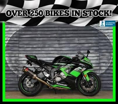 2016 Kawasaki Ninja ZX-6R for sale at AZMotomania.com in Mesa AZ
