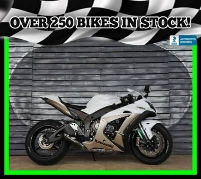 2017 Kawasaki Ninja ZX-10R for sale at AZMotomania.com in Mesa AZ