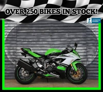 2015 Kawasaki Ninja ZX-6R for sale at AZMotomania.com in Mesa AZ
