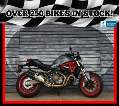 2017 Ducati Monster 821 for sale at AZMotomania.com in Mesa AZ