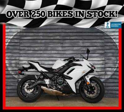 2020 Kawasaki Ninja 650 for sale at AZMotomania.com in Mesa AZ