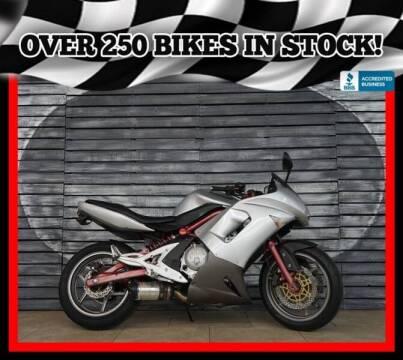 2006 Kawasaki Ninja 650R for sale at AZMotomania.com in Mesa AZ