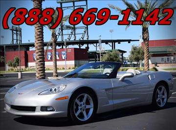 2006 Chevrolet Corvette for sale at AZMotomania.com in Mesa AZ