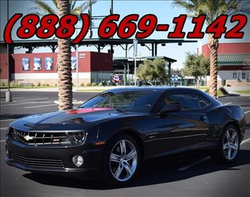 2012 Chevrolet Camaro for sale at AZMotomania.com in Mesa AZ