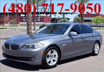 2011 BMW 5 Series for sale at AZMotomania.com in Mesa AZ