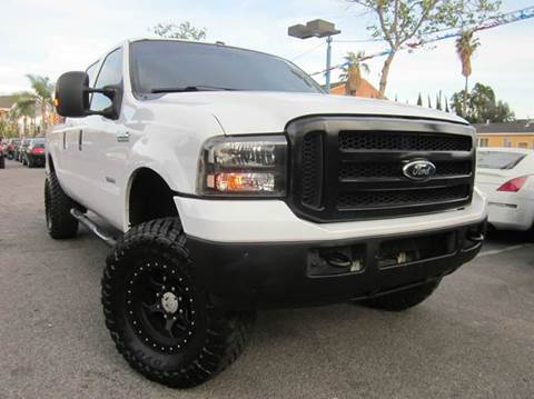 2007 Ford F-250 Super Duty for sale at WESTERN MOTORS in Santa Ana CA