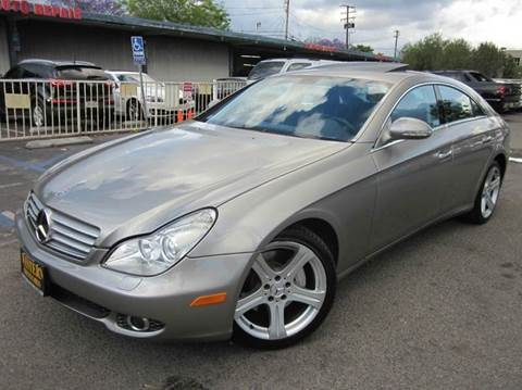 2006 Mercedes-Benz CLS for sale at WESTERN MOTORS in Santa Ana CA