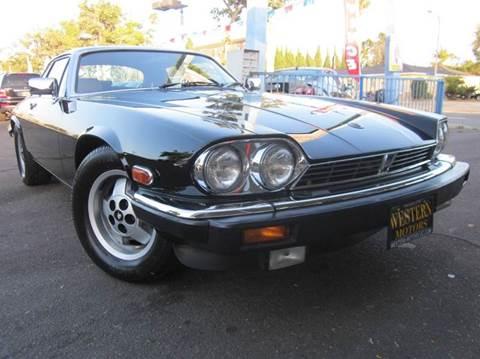 1986 Jaguar XJ-Series for sale at WESTERN MOTORS in Santa Ana CA