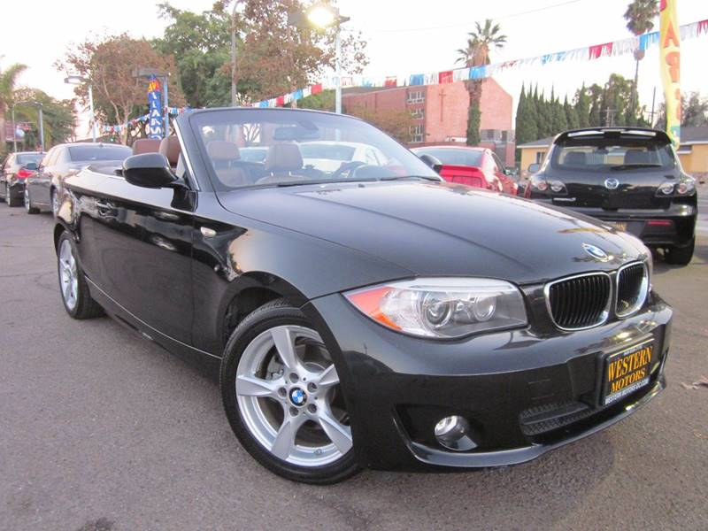 2012 Bmw 1 Series 128i 2dr Convertible SULEV In Santa Ana CA ...