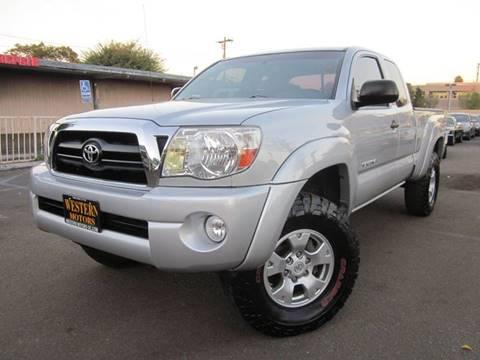 2008 Toyota Tacoma for sale at WESTERN MOTORS in Santa Ana CA