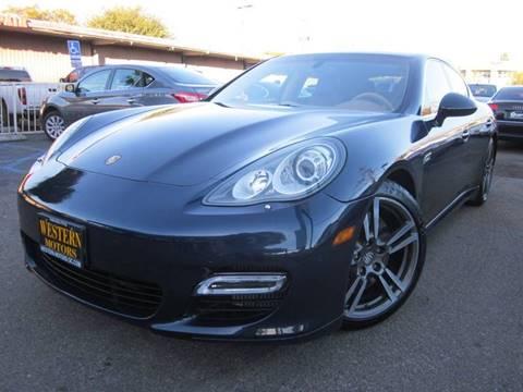 2011 Porsche Panamera for sale at WESTERN MOTORS in Santa Ana CA