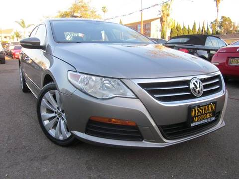 2011 Volkswagen CC for sale at WESTERN MOTORS in Santa Ana CA