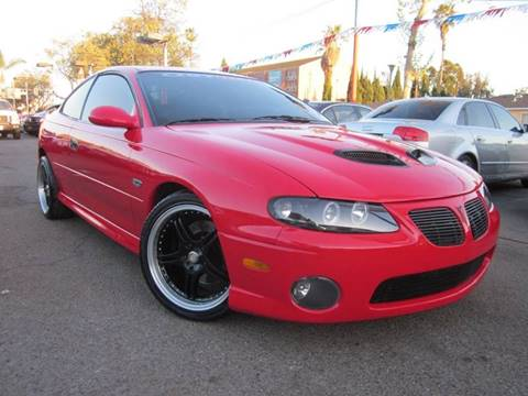 2005 Pontiac GTO for sale at WESTERN MOTORS in Santa Ana CA