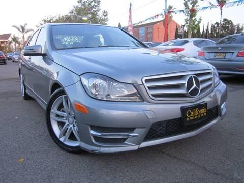 2013 Mercedes-Benz C-Class for sale at WESTERN MOTORS in Santa Ana CA
