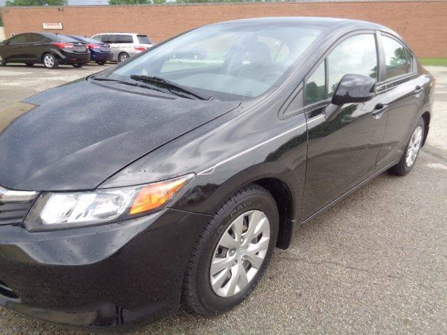 2012 Honda Civic for sale at CLINTONVILLE CAR SALES in Columbus OH