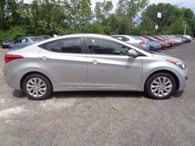 2012 Hyundai Elantra for sale at CLINTONVILLE CAR SALES in Columbus OH