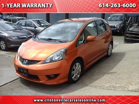 2010 Honda Fit for sale at CLINTONVILLE CAR SALES in Columbus OH