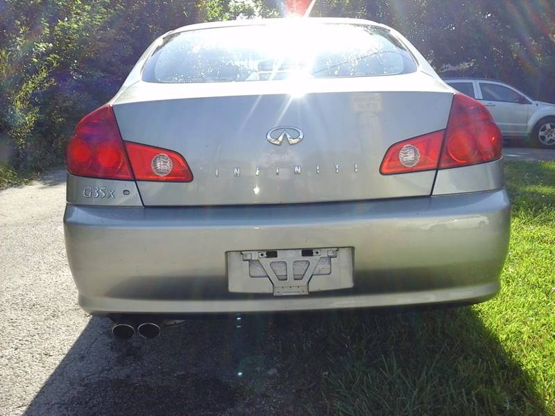 2005 Infiniti G35 for sale at CLINTONVILLE CAR SALES in Columbus OH