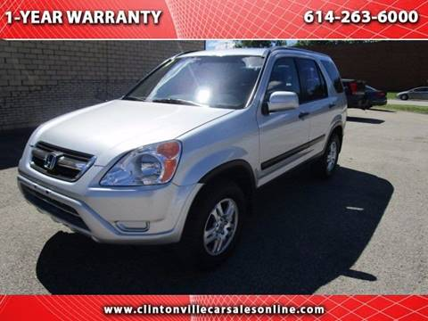 2003 Honda CR-V for sale at CLINTONVILLE CAR SALES in Columbus OH