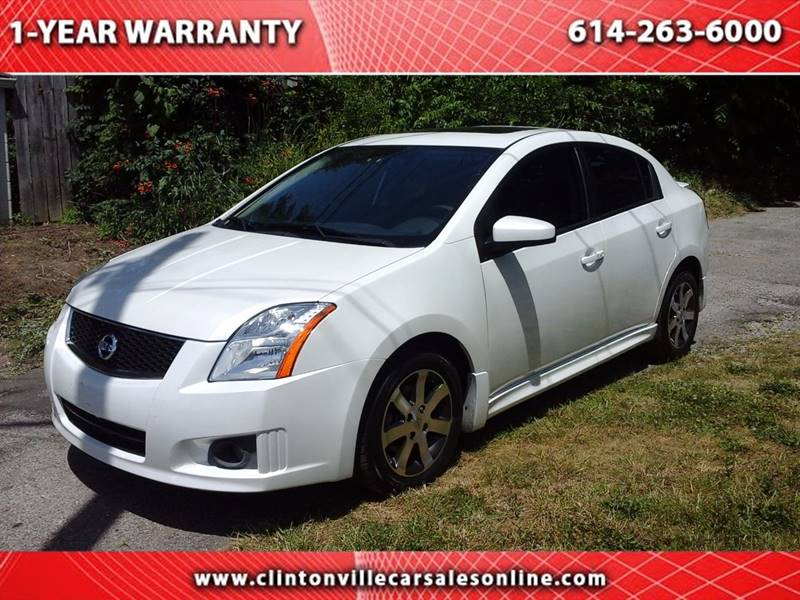 2012 Nissan Sentra for sale at CLINTONVILLE CAR SALES in Columbus OH