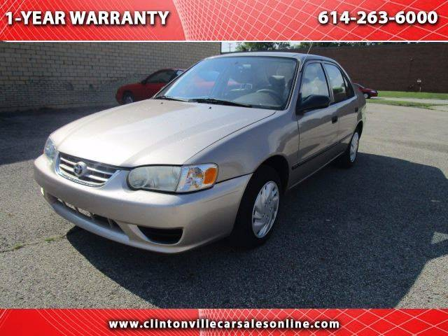 2002 Toyota Corolla for sale at CLINTONVILLE CAR SALES in Columbus OH