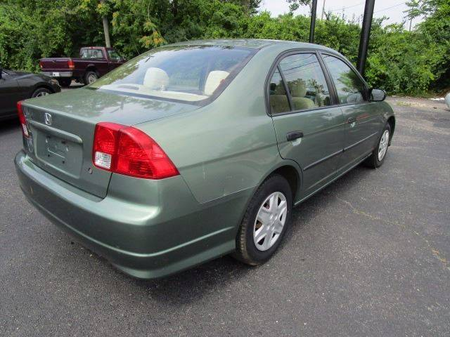 2004 Honda Civic for sale at CLINTONVILLE CAR SALES in Columbus OH