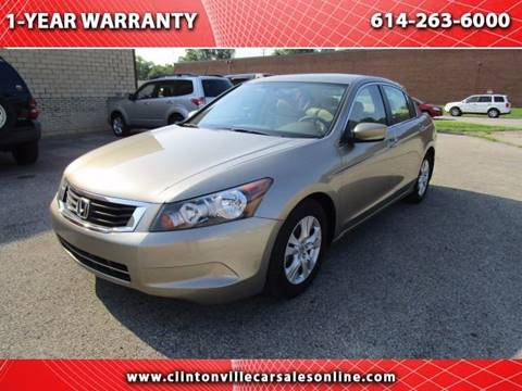 2010 Honda Accord for sale at CLINTONVILLE CAR SALES in Columbus OH