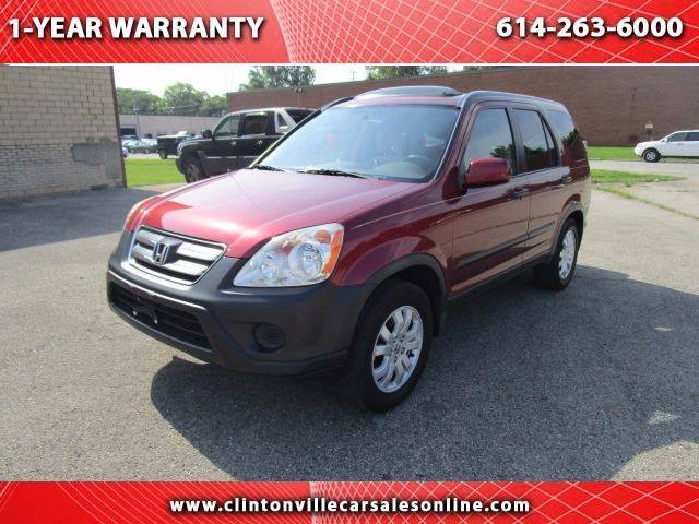 2006 Honda CR-V for sale at CLINTONVILLE CAR SALES in Columbus OH
