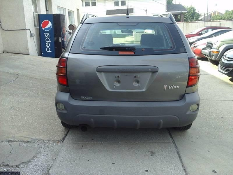 2005 Pontiac Vibe for sale at CLINTONVILLE CAR SALES in Columbus OH