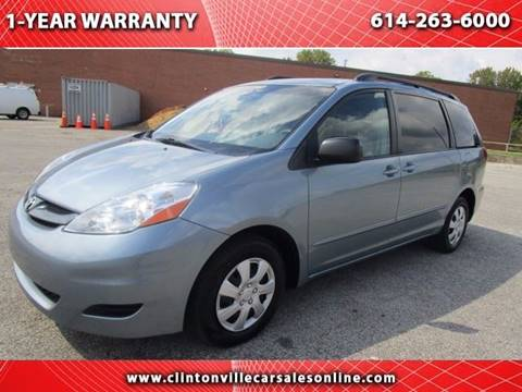 2007 Toyota Sienna for sale at CLINTONVILLE CAR SALES in Columbus OH