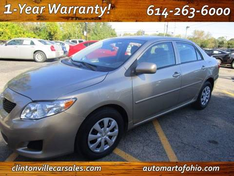 2010 Toyota Corolla for sale at CLINTONVILLE CAR SALES - Automart of Ohio in Columbus OH