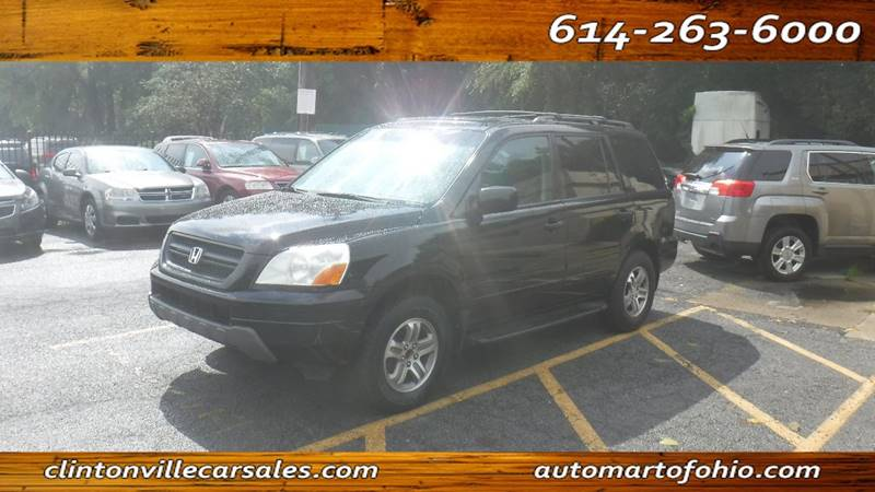 2003 Honda Pilot For Sale At CLINTONVILLE CAR SALES   Automart Of Ohio In  Columbus OH