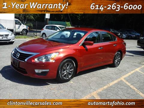 Nissan Columbus Ohio >> Nissan Altima For Sale In Columbus Oh Clintonville Car Sales