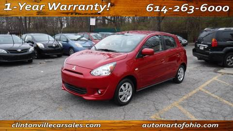 2014 Mitsubishi Mirage for sale at Clintonville Car Sales - AutoMart of Ohio in Columbus OH