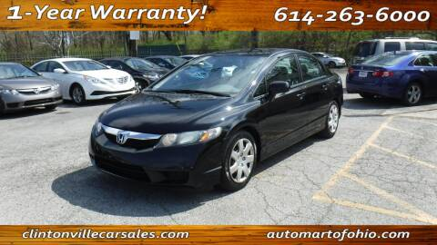 2011 Honda Civic for sale at Clintonville Car Sales - AutoMart of Ohio in Columbus OH