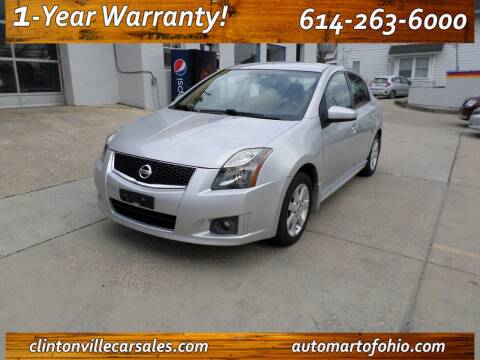 2012 Nissan Sentra for sale at Clintonville Car Sales - AutoMart of Ohio in Columbus OH