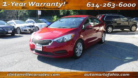2015 Kia Forte for sale at Clintonville Car Sales - AutoMart of Ohio in Columbus OH