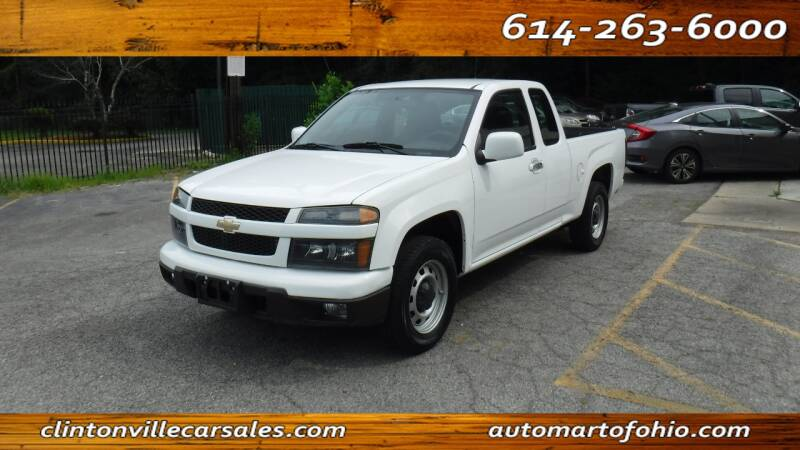 2012 Chevrolet Colorado for sale at Clintonville Car Sales - AutoMart of Ohio in Columbus OH