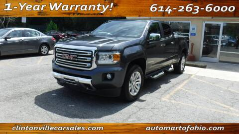 2016 GMC Canyon for sale at Clintonville Car Sales - AutoMart of Ohio in Columbus OH